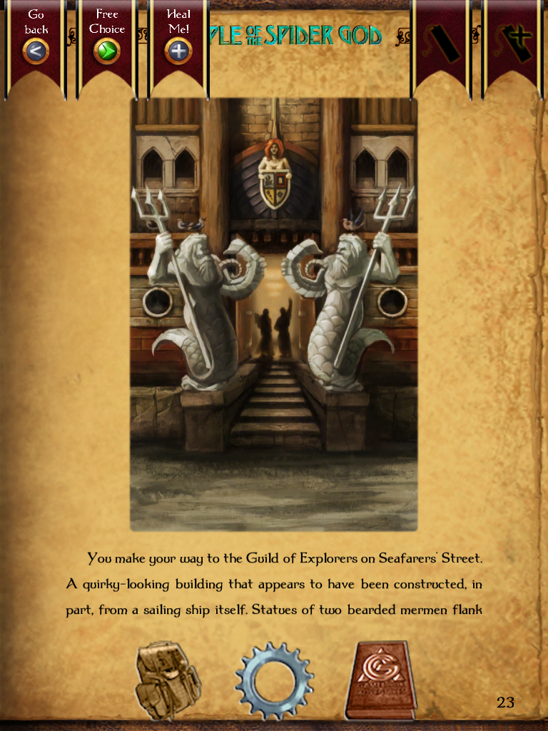 Temple of the Spider God   Gamebook Adventures